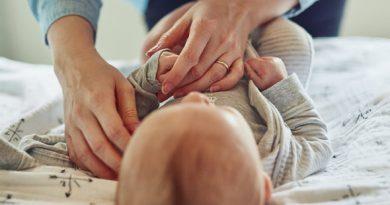 pieluszki niemowlęce, blog dziecka